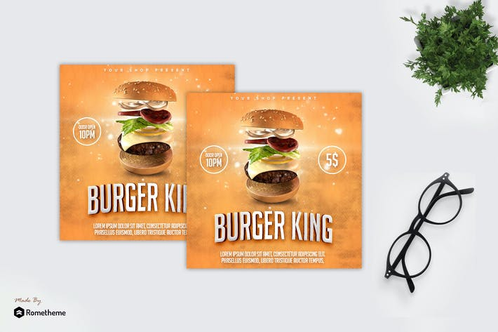 Thumbnail for Burger Promo - Flyer MR