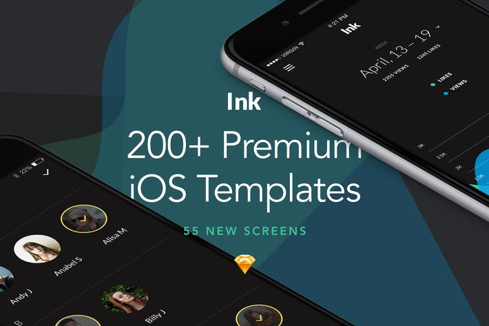 Cover Image For Ink: Ultimate UI Kit