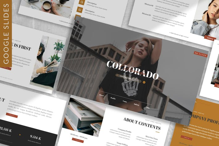 Thumbnail for Collorado - Business Google Slide Template