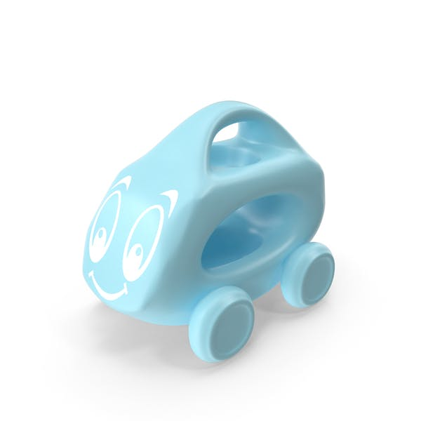 Blue Toy Car