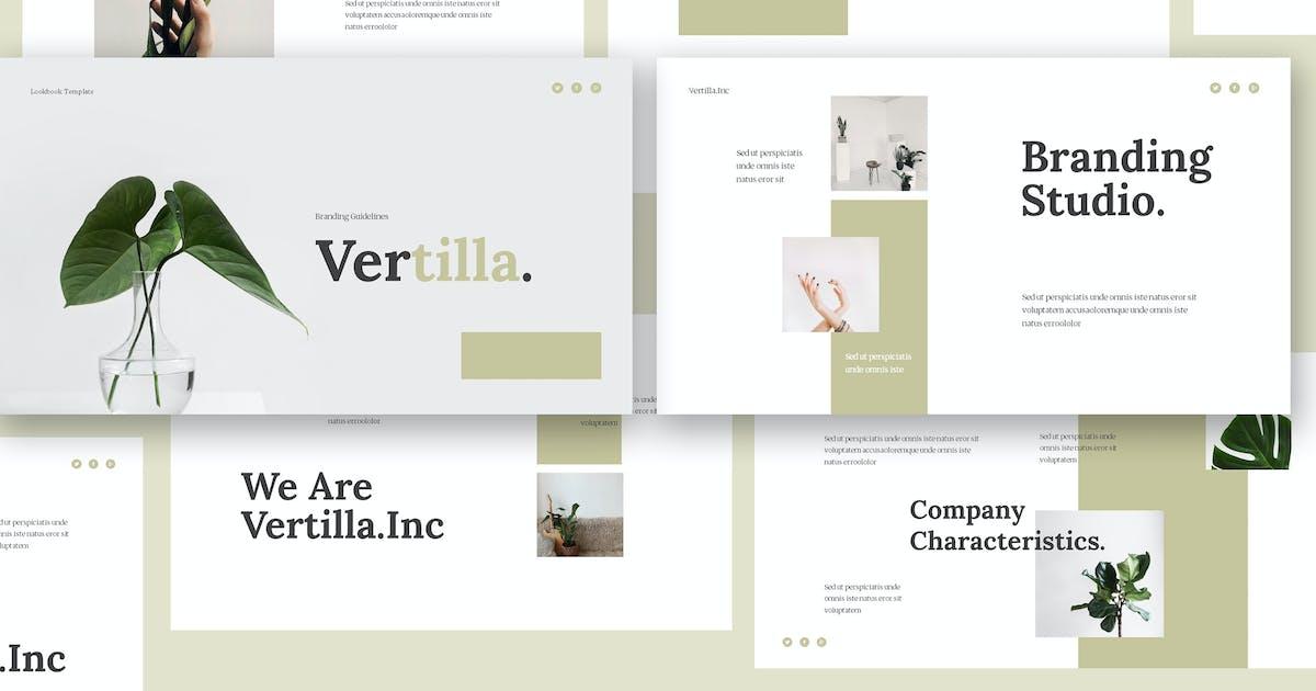 Download Vertilla - Brand Guideline Keynote Template by giantdesign
