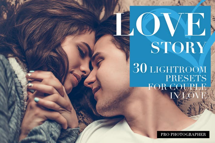 Thumbnail for Love Story Lightroom Presets