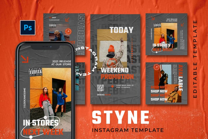 Styne - Hype Instagram Stories and Post