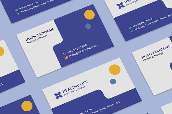 Thumbnail for Medical healthy business card