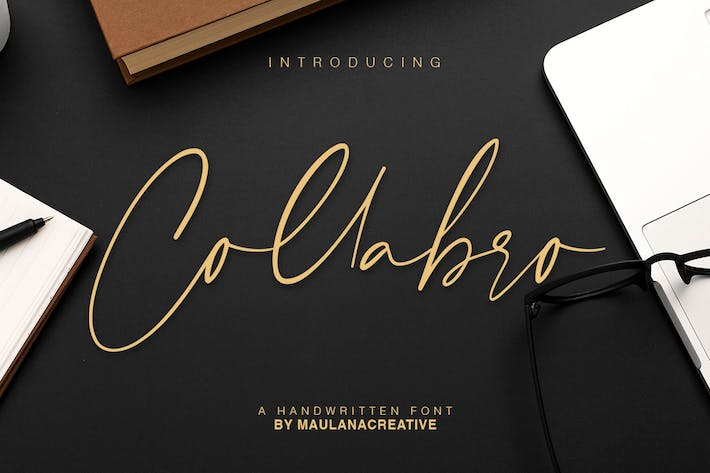 Collabro Signature Font