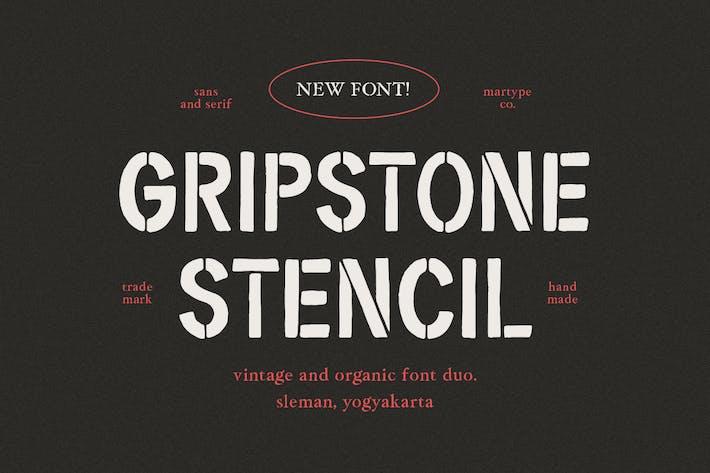 Plantilla Gripstone - Fuente Vintage Duo