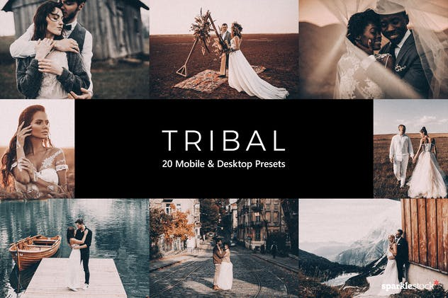 20 Tribal Lightroom Presets & LUTs