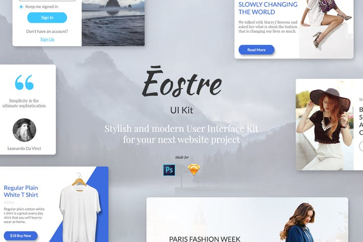 Thumbnail for Eostre Ui Kit