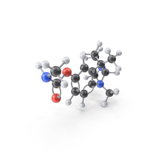 Cover Image for Physostigmine Molecule