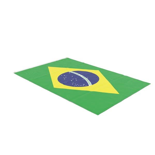 Flag Laying Pose Brazil