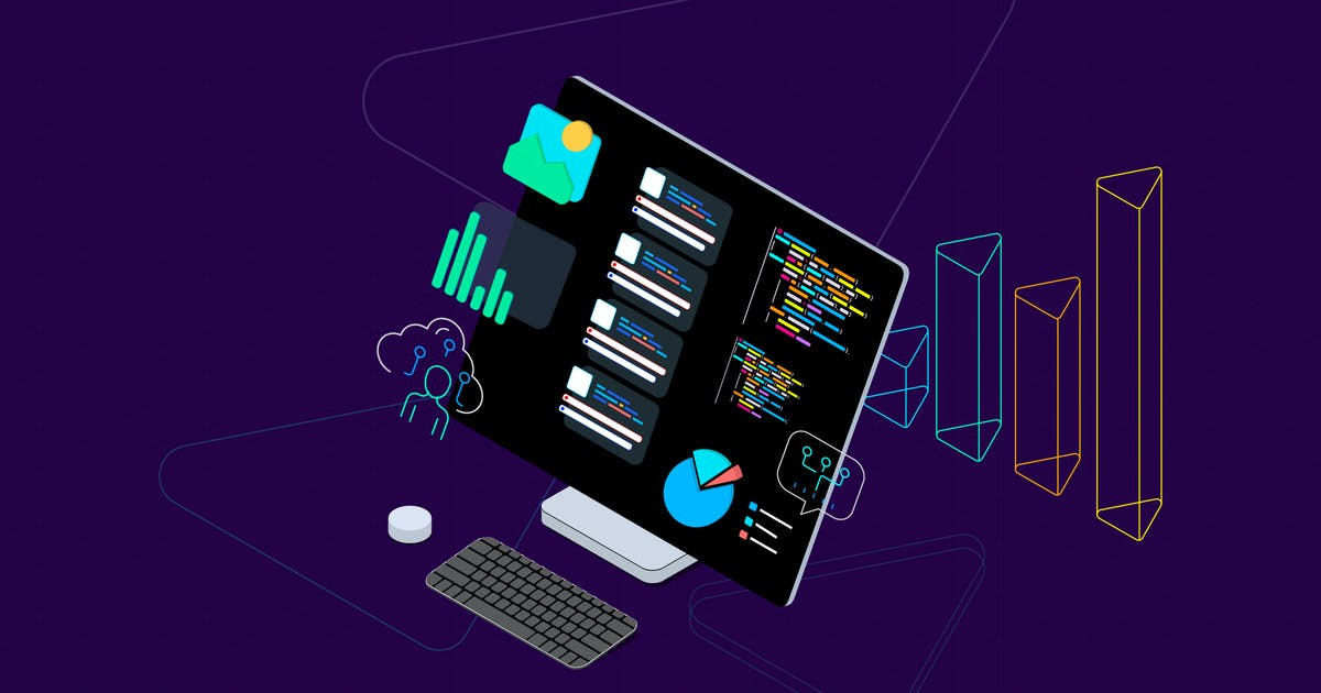Download Blockchain Platform Isometric Illustration 16 by angelbi88