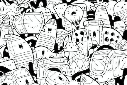 Barcelona Doodle