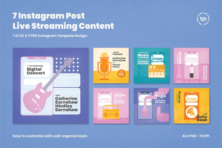 Cover Image For 7 Instagram Post Live Streaming Content
