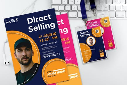 Direct Selling - Seminar Invitation