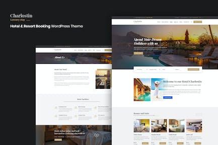 Charlostin - Hotel & Resort Booking WordPress