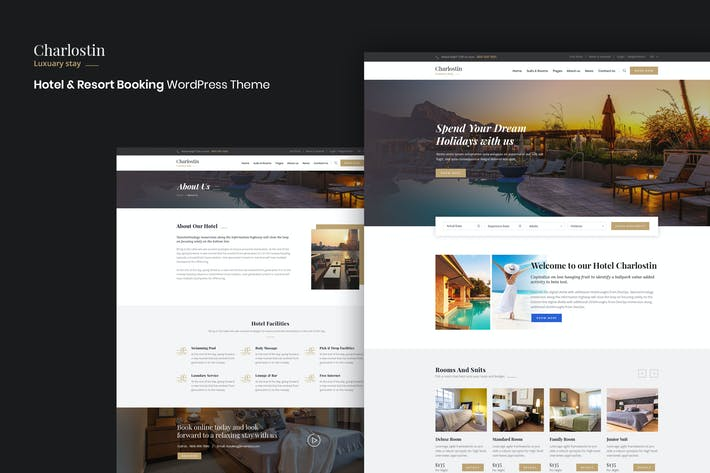 Charlostin - Hotel & Resort Booking WordPress