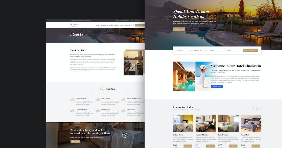 Download Charlostin - Hotel & Resort Booking WordPress by shtheme