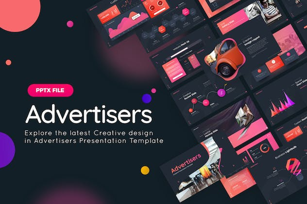 Advertisers Creative Powerpoint Template