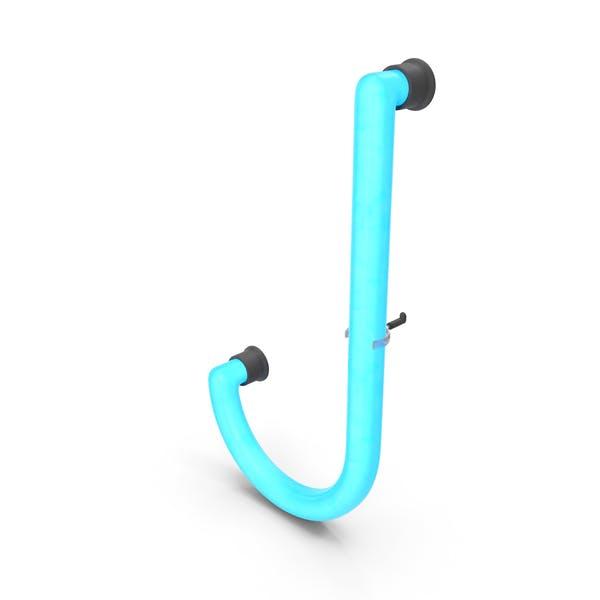 Неоновая буква J