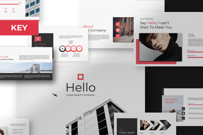 Cover Image For Hello Creative Keynote