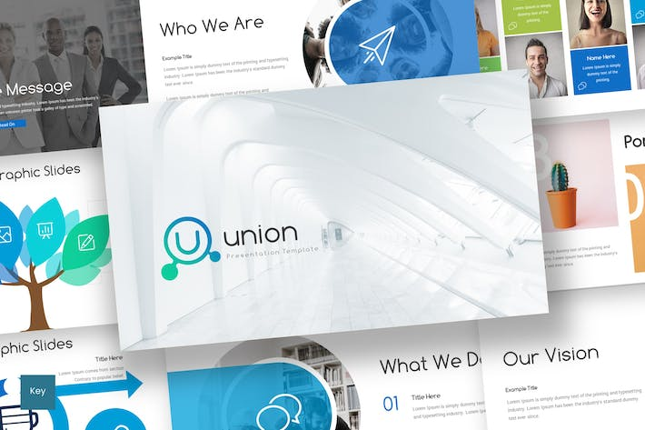 Thumbnail for Union - Keynote Template