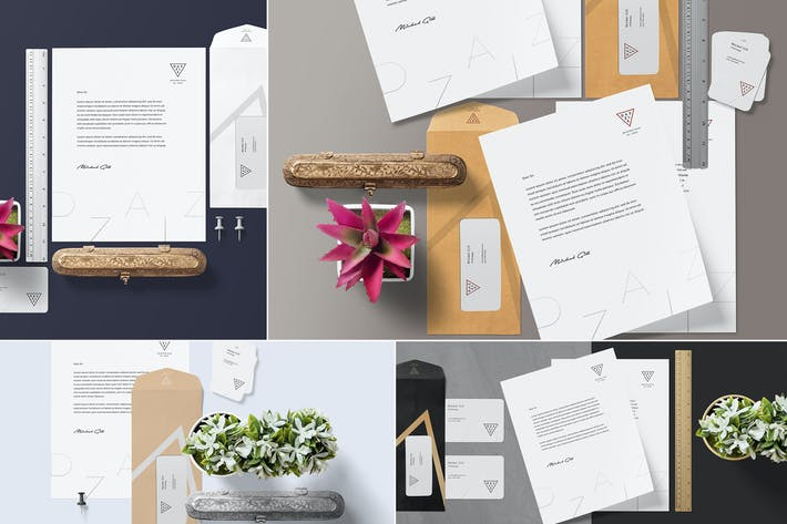 Thumbnail for Stationery Mockup Scenes