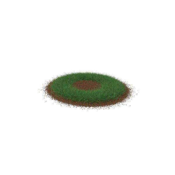 Grass & Dirt Shape Short