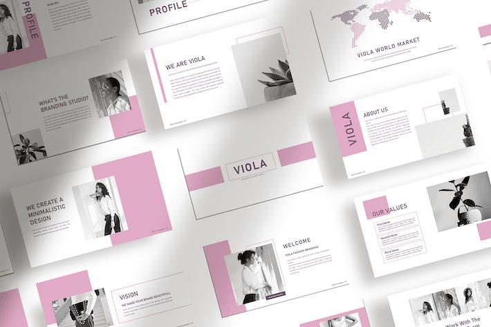 Thumbnail for Viola - Minimalist Presentation