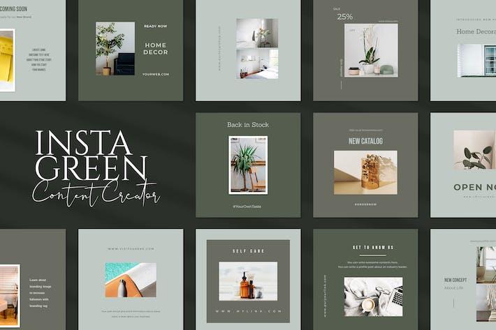 Thumbnail for Green Insta Creator