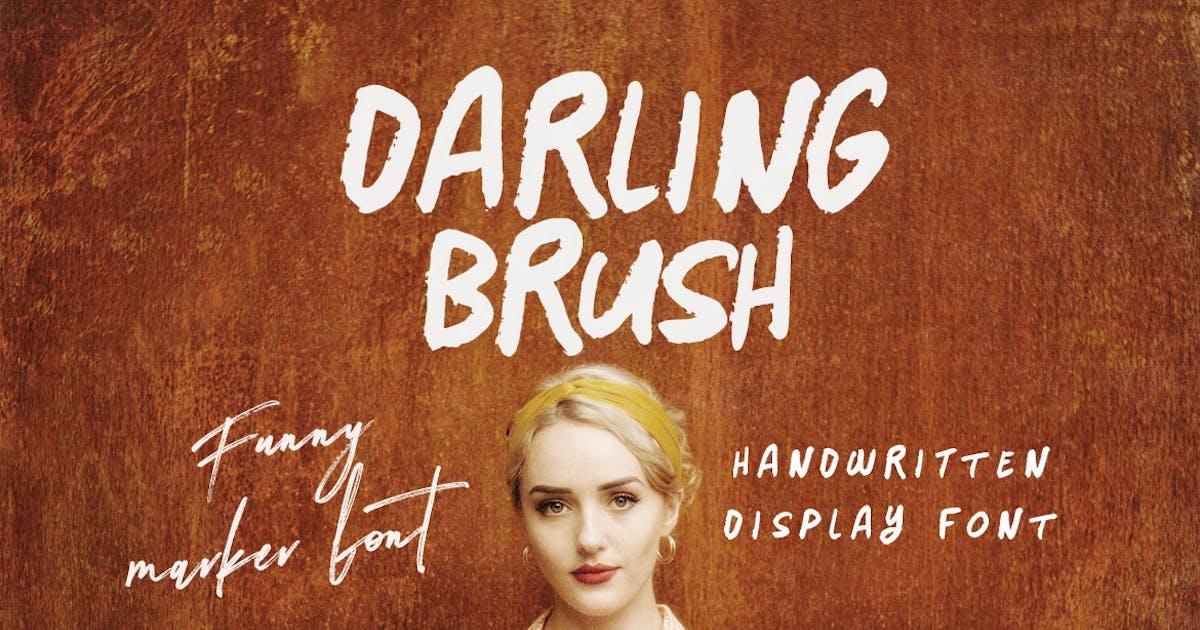 Download Darling - Handwritten Font by cruzine