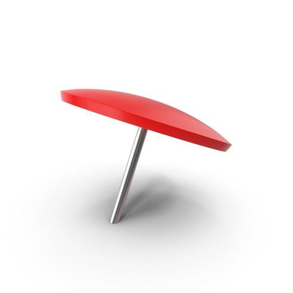 Красный Push Pin
