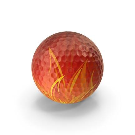 Golfball-Flamme strukturiert
