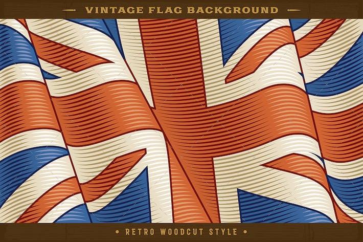 Thumbnail for Fondo Vintage de la bandera británica.