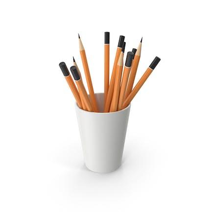 Cup mit Bleistiften