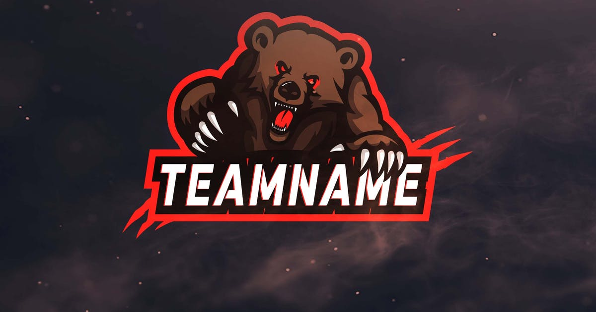 Download Bear's Claw Sport and Esports Logos by ovozdigital