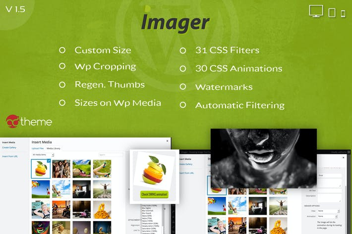 Thumbnail for Imager – Amazing Image Tool for WordPress