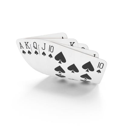 Escalera recta de Mano de póquer