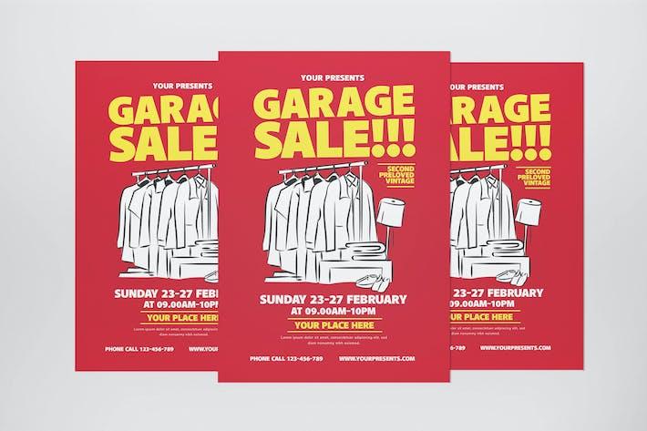 Thumbnail for Garage Verkauf Flyer