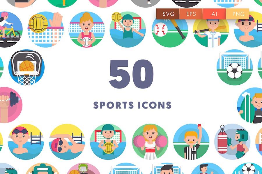50 Sport-Icons