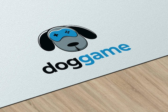 Thumbnail for Doggame - Logo Template RB