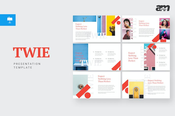 Thumbnail for Twie - Keynote Template
