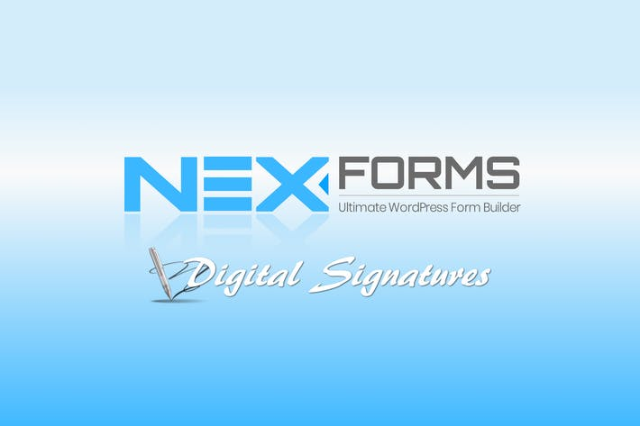 Thumbnail for NEX-Forms - Digital Signatures Add-on
