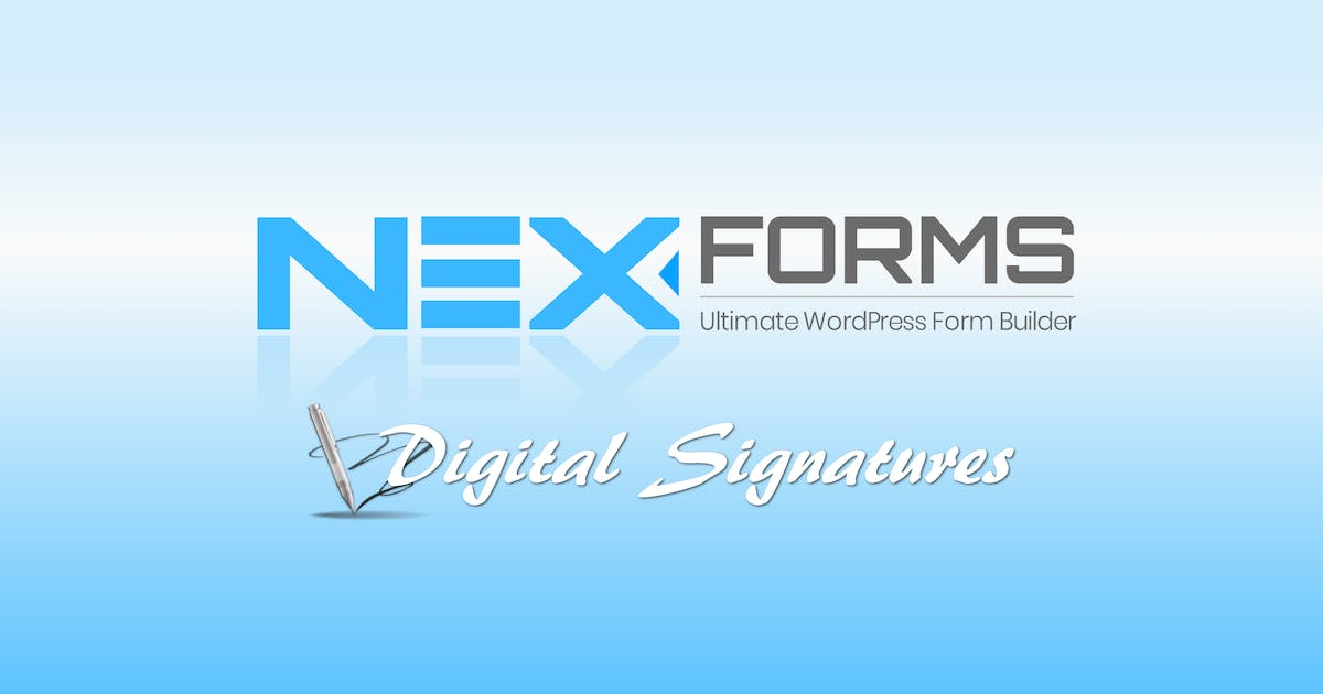 Download NEX-Forms - Digital Signatures Add-on by Basix