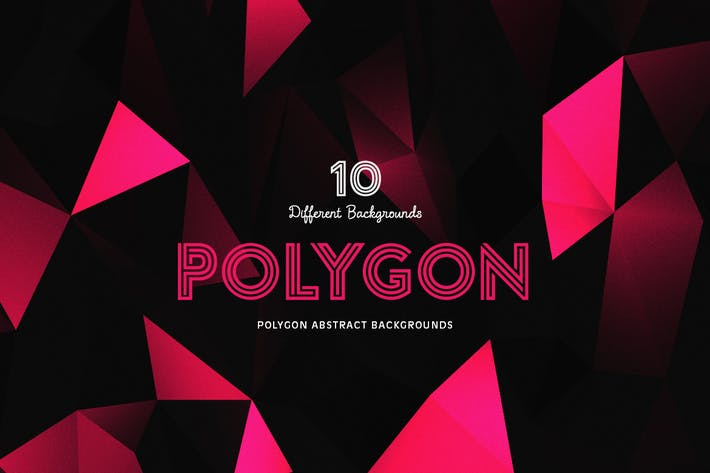 Cover Image For Polygon Abstract Backgrounds