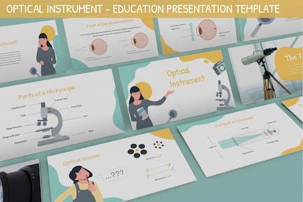 Optical Instrument - Education Presentation