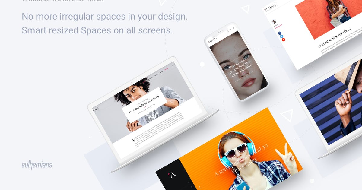 Download Anemos - A Multiuse Blogging WordPress theme by Euthemians