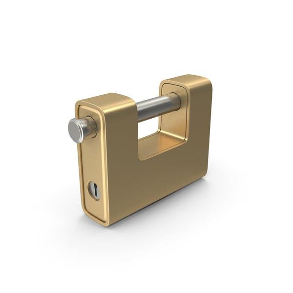 Thumbnail for Gold Padlock
