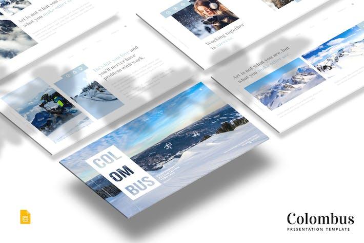 Thumbnail for Colombus - Google Slides Template