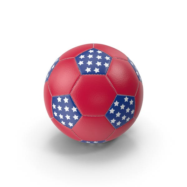 Thumbnail for Soccer Ball US Colors