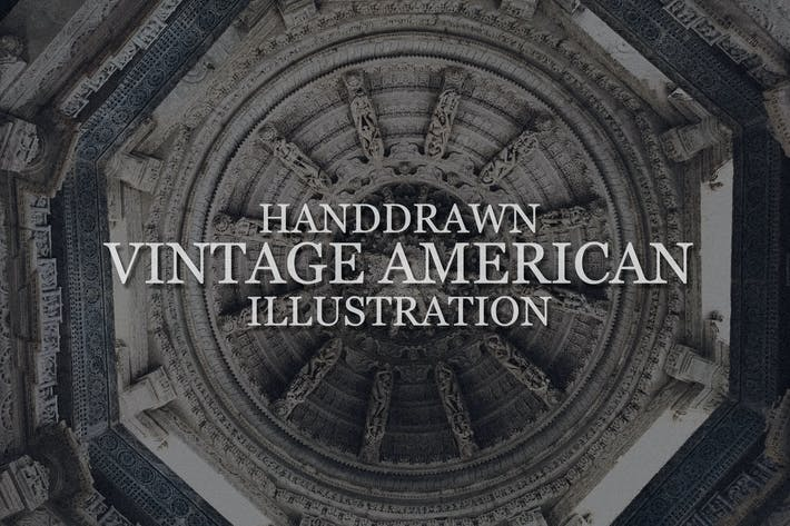 Thumbnail for Handdrawn Vintage American Illustration